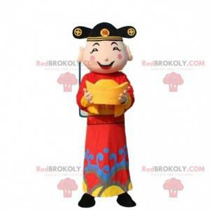 Asian man costume, god of wealth costume - Redbrokoly.com