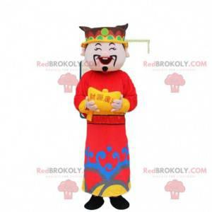 Azjatycka maskotka, Chińczyk, bóg bogactwa - Redbrokoly.com