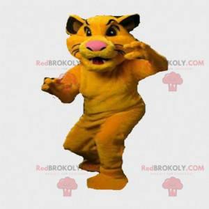 Mascotte Simba, il re leone. Costume di Simba, Nala -
