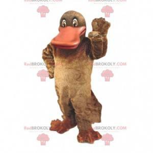 Platypus mascot, duck costume, river animal - Redbrokoly.com