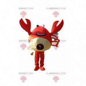 Mascota de cangrejo, disfraz de marisco, disfraz de pastel -