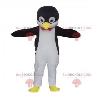 Maskot tučňáka, kostým tučňáka, zvíře z ledové kra -