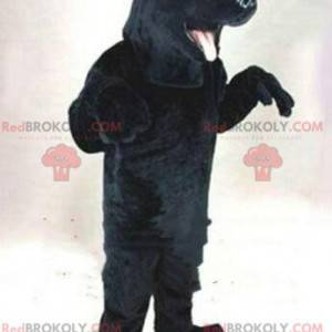 Black dog mascot, Labrador costume, canine costume -