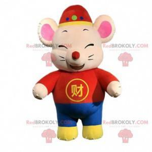 Maskot myši, asijské kostýmy, čínský Nový rok - Redbrokoly.com