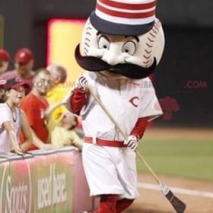 Obří baseball maskot - Redbrokoly.com