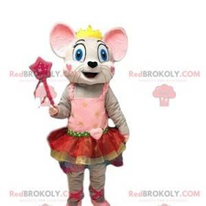 Mouse mascot, dancer costume, female costume - Redbrokoly.com
