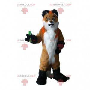 Hairy dog mascot, hairy doggie costume - Redbrokoly.com
