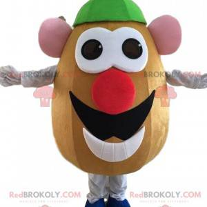 Mascot Mr. Potato, famous character from Toy Story -
