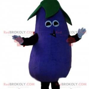 Maskot lilku, zeleninový kostým, obří lilek - Redbrokoly.com