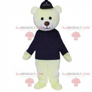 Isbjørn maskot, isbjørn, bamse kostyme - Redbrokoly.com