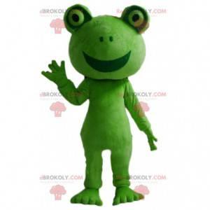 Maskot zelená žába, kostým ropuchy zelené - Redbrokoly.com