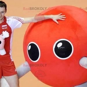 Alien red balloon mascot - Redbrokoly.com
