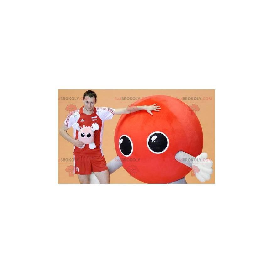 Außerirdisches rotes Ballonmaskottchen - Redbrokoly.com