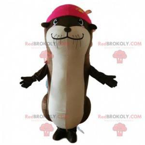 Mascote de lontra, fantasia de leão-marinho, fantasia de