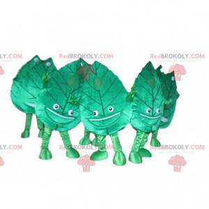Tree leaf mascot, tree costume, nature disguise - Redbrokoly.com