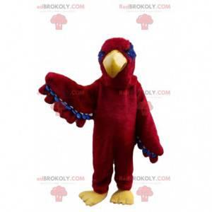 Maskot červený orel, kostým ptáka, kostým supa - Redbrokoly.com
