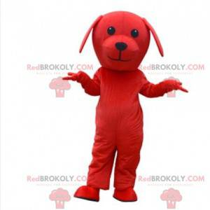 Red dog mascot, doggie costume, red disguise - Redbrokoly.com