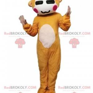 Maskot opice, kostým kosmanů, kostým džungle - Redbrokoly.com