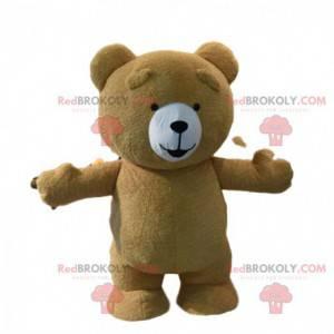 Großes braunes Teddy-Maskottchen, Braunbärkostüm -