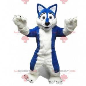 Husky dog mascot, fox costume, hairy disguise - Redbrokoly.com