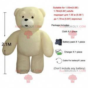 Maskot obrovského medvídka, nafukovací kostým - Redbrokoly.com