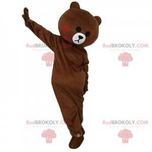 Braunes Teddybär-Maskottchen, Bärenkostüm, Teddybär -