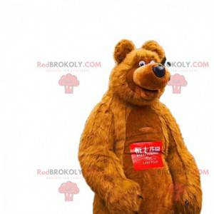 Medvěd maskot, slavný medvěd z kresleného Máša a medvěd -