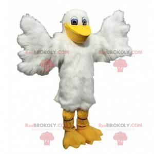 Pelikaan mascotte, zeemeeuw kostuum, meeuw - Redbrokoly.com