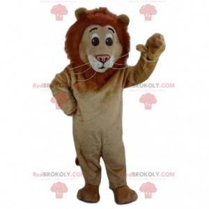 Brązowy lew maskotka, kostium lwa, kostium lwa - Redbrokoly.com