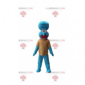 Maskot Carlo Tentacle, známá postava v SpongeBob SquarePants -