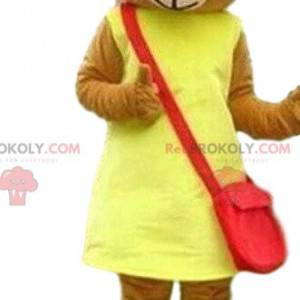 Maskot medvídka, kostým medvídka, maskot samice - Redbrokoly.com
