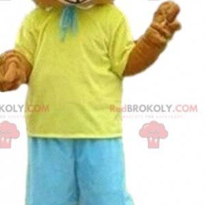 Bear mascot, teddy bear costume, summer mascot - Redbrokoly.com