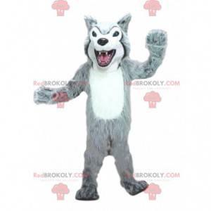Wolf mascot, wolf dog costume, dog costume - Redbrokoly.com