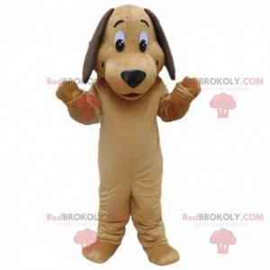 Beige dog mascot, doggie costume, dog costume - Redbrokoly.com