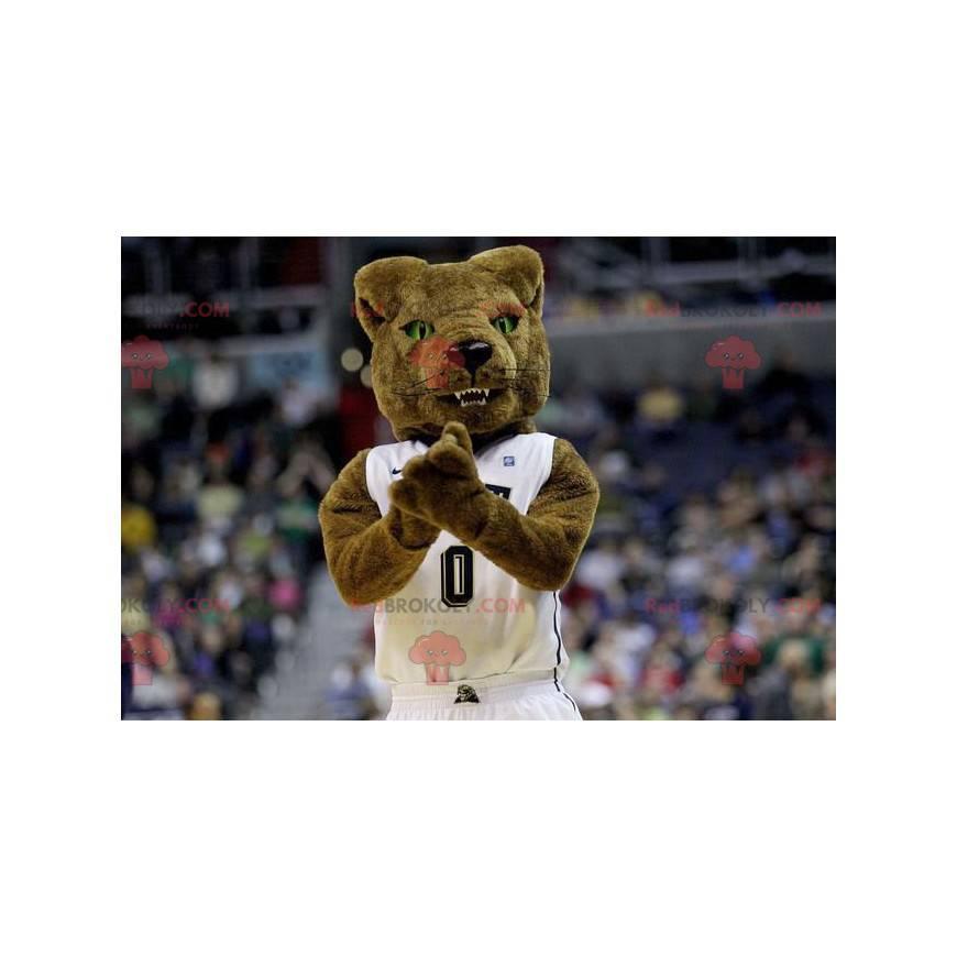 Medvěd hnědý divoký vzduch maskot - Redbrokoly.com