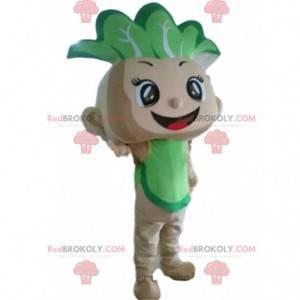 Cabbage mascot, baby costume, vegetable costume - Redbrokoly.com