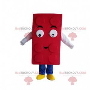 Red Lego maskot, byggesett kostyme - Redbrokoly.com