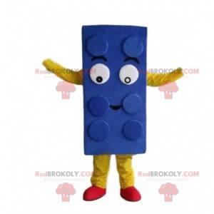 Modré lego maskot, kostým stavebnice - Redbrokoly.com