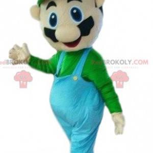 Mascote de Luigi, personagem famoso e amigo de Mario, Luigi -