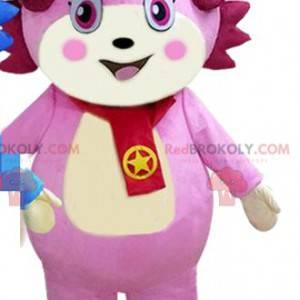 Rosa Charakter Maskottchen, rosa Kreatur Kostüm - Redbrokoly.com