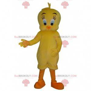 Mascote de Titi, famoso canário amarelo de Titi e Grosminet -