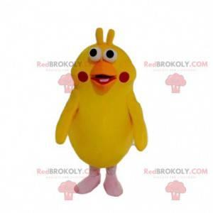Maskot žlutý papoušek, zábavný kostým ptáka - Redbrokoly.com