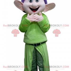 Mascot Dopey, i snehvide og de syv dværge - Redbrokoly.com