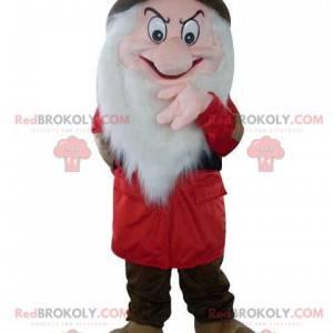 Mascot Grumpy en Blancanieves y los siete enanitos -
