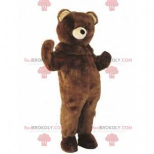 Teddy bear mascot, brown bear costume - Redbrokoly.com