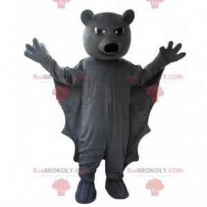 Gray bat mascot, Batman costume - Redbrokoly.com