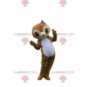 Dovendyr maskot, abe kostume, marmoset brun - Redbrokoly.com