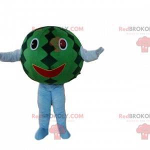 Maskotka gigantyczny arbuz, kostium egzotycznego owocu -