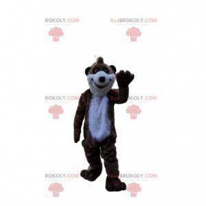 Maskot Surikata, mongoose kostým, exotické zvíře -