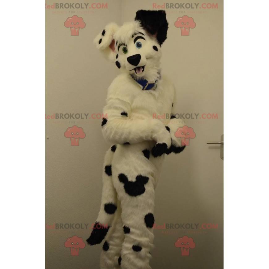 Black and white dog dalmatian mascot - Redbrokoly.com